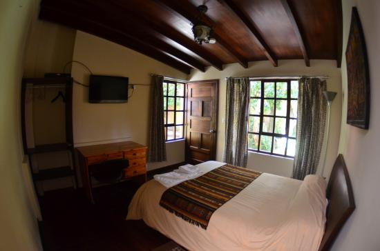 El Arupo: Private Room with garden view