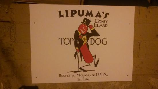 Lipuma's Coney Island: Lipuma's Top Dog of Rochester Michigan