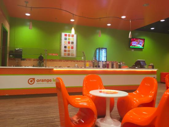 Orange Leaf Frozen Yogurt, Arnold