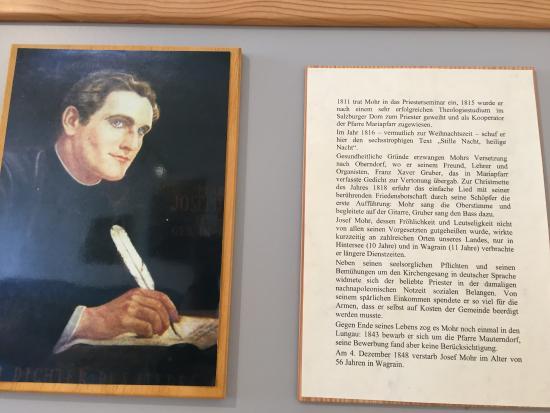 Mariapfarr, Austria: Joseph Mohr