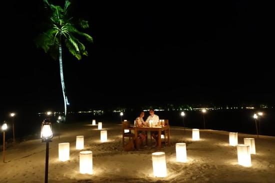 Lankanfushi : Our private dining experience on One Palm Island