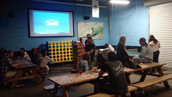 Green Room Brewing: Giant Connect Four!