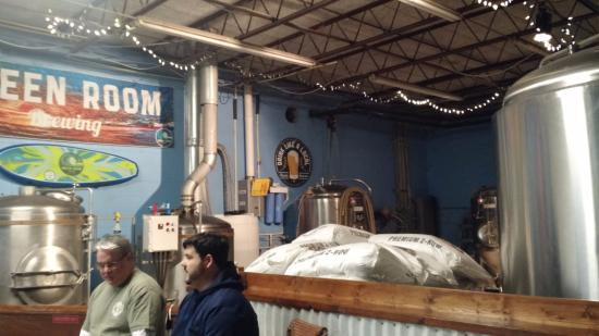 Green Room Brewing: Where the magic happens