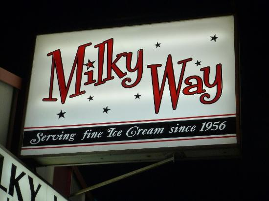 Milky Way Ice Cream Image