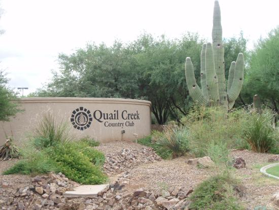 Green Valley, AZ: Welcome to Quail Creek