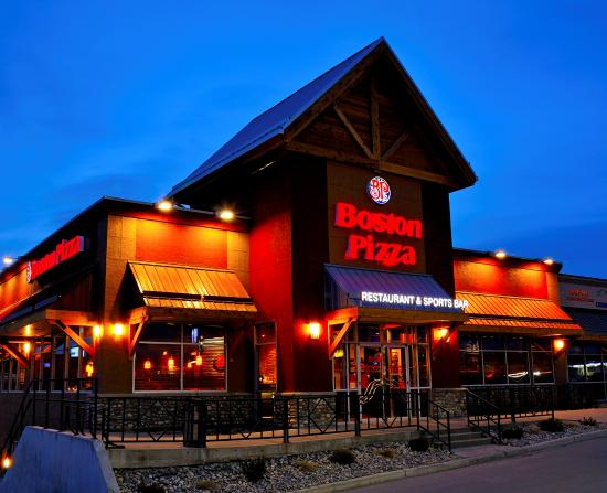Boston Pizza Photo
