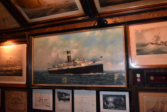 Essex, CT: beautiful artwork of steamboats