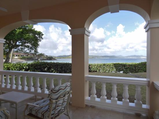 The Buccaneer -- St Croix: view from our bungalow
