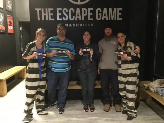 Orlando Prison Break Escape Room Walkthrough