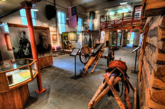 Gallatin History Museum: A much larger interior than appears from outside