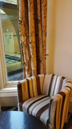 shredded curtains in reception lounge picture of the pitlochry rh tripadvisor co uk