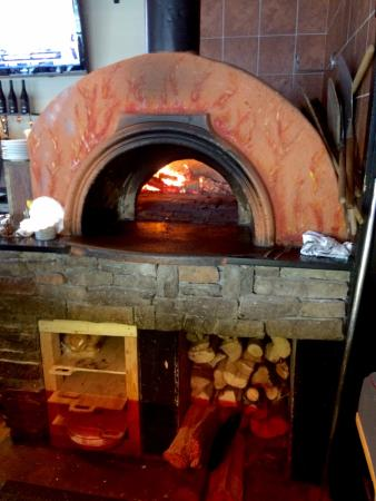 Pittsfield, ماساتشوستس: The wood fired brick oven