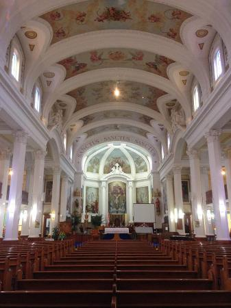 Gravelbourg, Canada: inside of Co-Cathedral