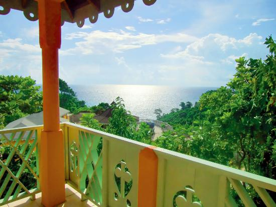 Pimento Lodge Resort: View from one of our superios rooms