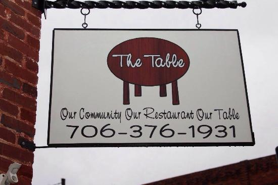 Hartwell, GA: The Table