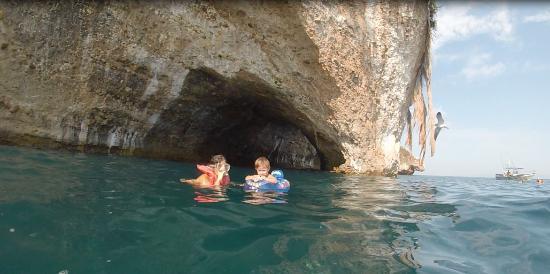 La Cruz de Huanacaxtle, México: Snorkle fun for all ages