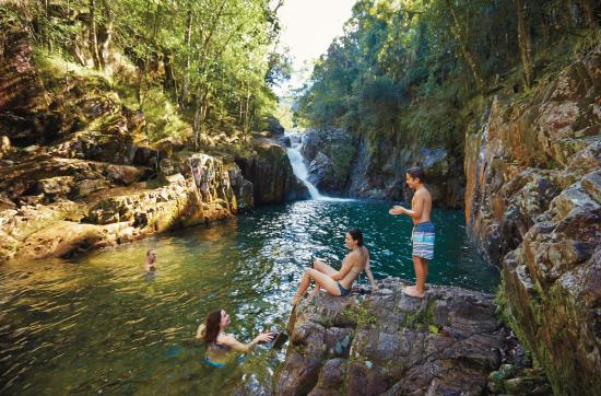 Mackay Region, أستراليا: swimming FHG Eungella NP