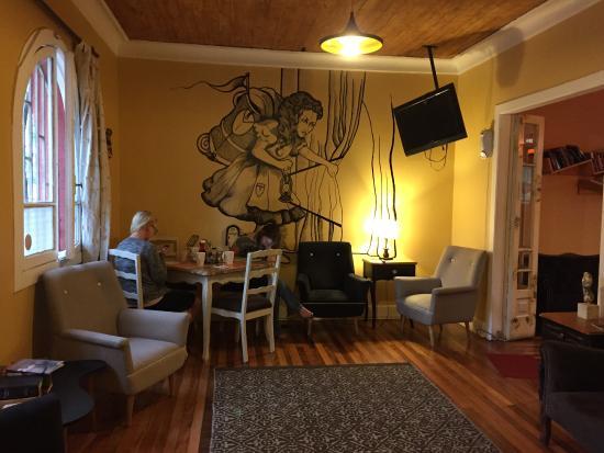 Don Santiago Hostel : Living room/Coffe room