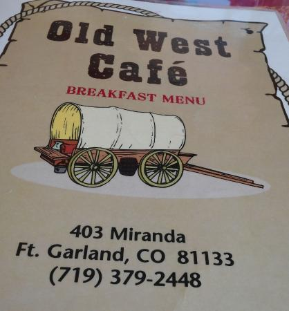Old West Cafe-billede