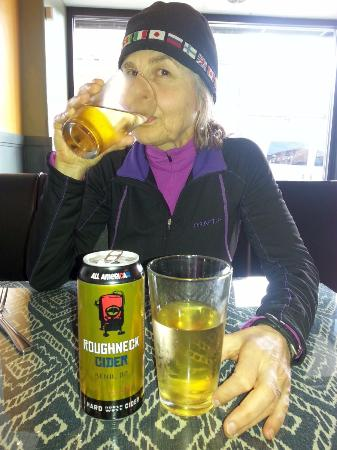Roughneck Cider at Barrio