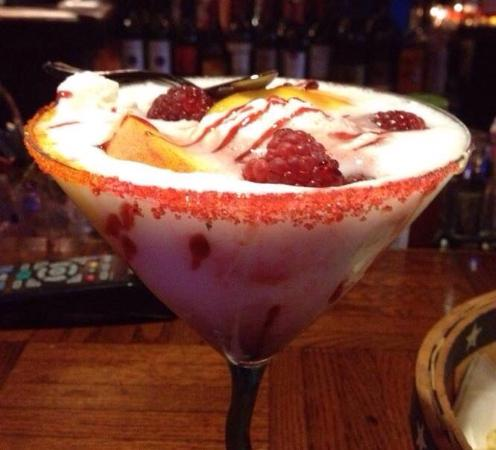 Sodus Point, estado de Nueva York: Bay Street s famous Martini Bar Creation.