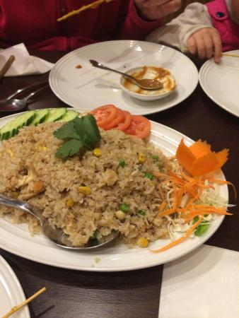 Satang thai cuisine kelowna bc: It's spicy but good dishes