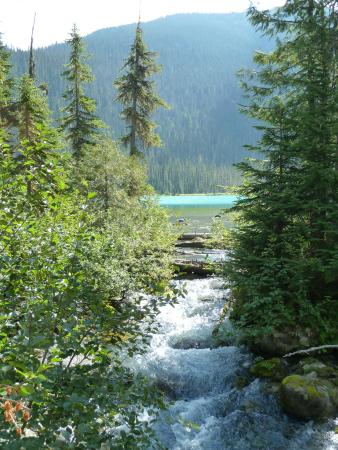Pemberton, Canada: A river on the lower lake