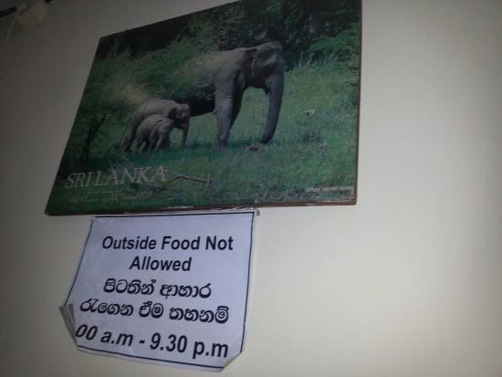 Sam's Chinese Restaurant: promoting beautiful Sri Lanka