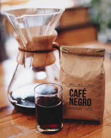Cafe Negro Mexico City