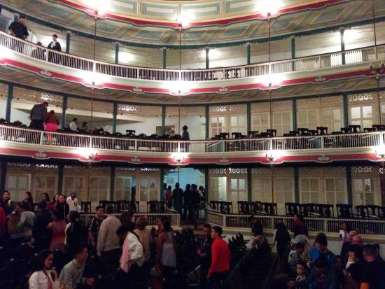 Teatro La Caridad: This is how the old world charm has been retained in the theatre. Surely worth a visit