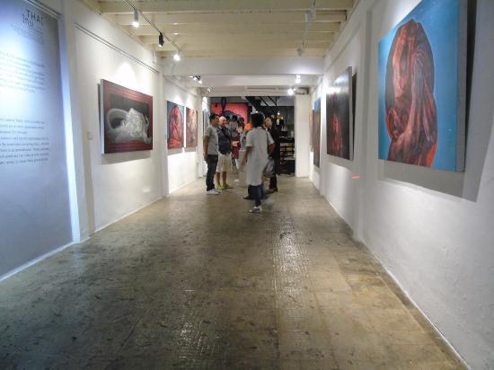 D Exhibition Bangkok : Chuang moolpinit national thai artist at l amour art