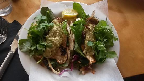 SixFortySix: tarakihi soft tacos