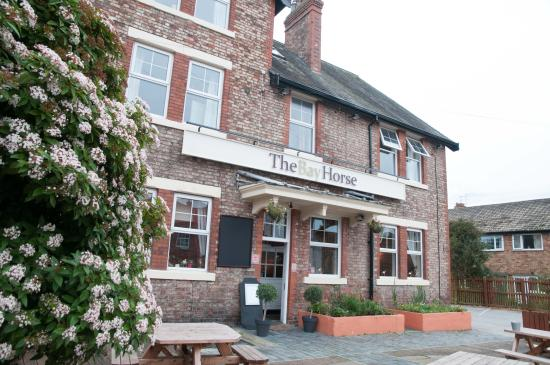 The Bay Horse: new exterior signage