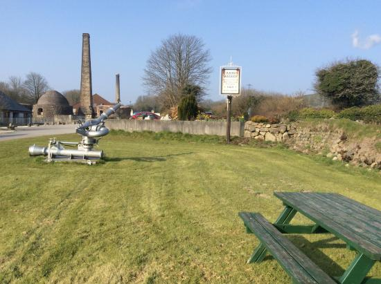 Carbis Wharf: The old brick kilns on the site.