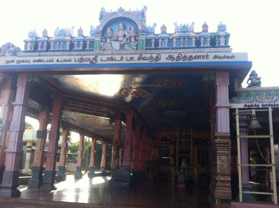 Thiruchendur, India: Temple Mandapam