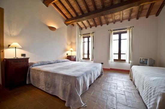 Castiglione della Valle, Italien: Tiziano camera