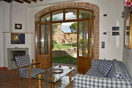 Castiglione della Valle, Italien: Bramante salotto