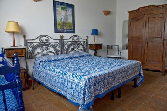Castiglione della Valle, Italien: Bramante camera