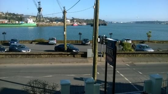 The Bosun: View of Port from Bedroom
