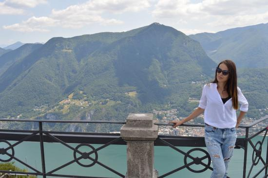 monte san salvatore picture of monte san salvatore lugano tripadvisor. Black Bedroom Furniture Sets. Home Design Ideas