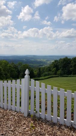 Warwick, estado de Nueva York: View from top of the mountain