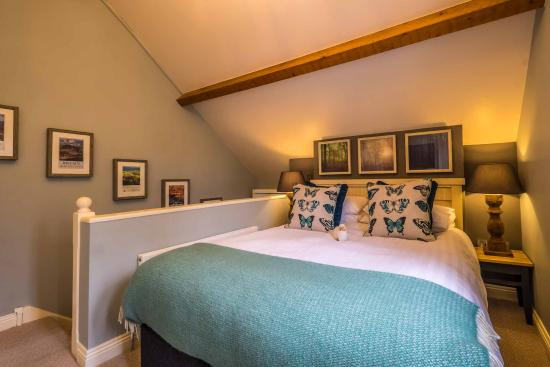 Hindon, UK: Garden Suite bedroom