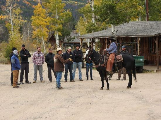 Jelm, WY: Horse Orientation