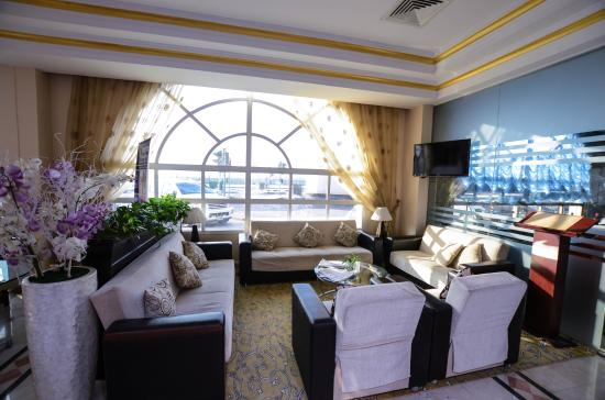Al Seef  Hotel : Seating Area