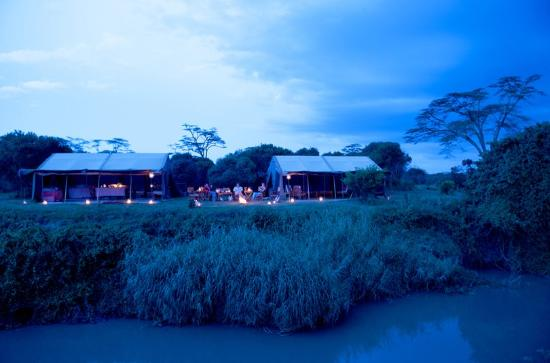 Ol Pejeta Bush Camp: Your camp right on the river banks