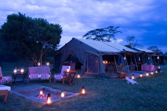 Ol Pejeta Bush Camp, Asilia Africa: The common area at Ol Pejeta Bush Camp