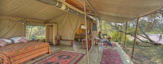 Ol Pejeta Bush Camp, Asilia Africa: Your bedroom at Ol Pejeta