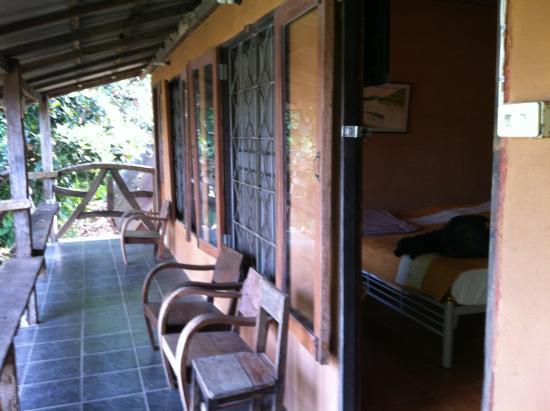 Baan Tammila: balcony