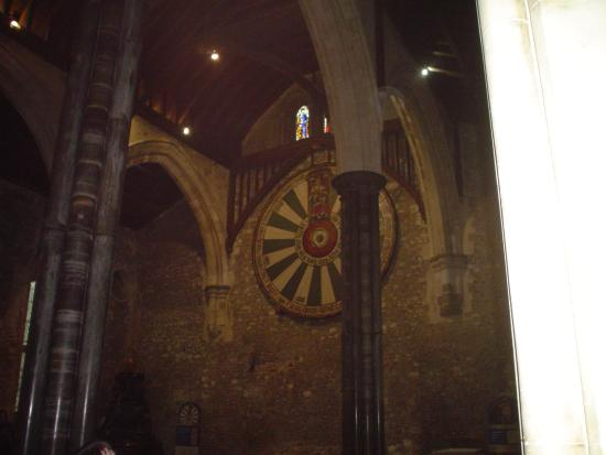 Thetreat hall the round table king arthur picture of winchester cathedral winchester - Round table winchester cathedral ...