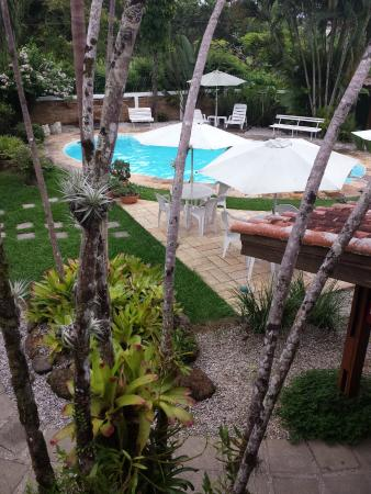 Pousada Recanto das Palmeiras: Nada melhor do que chegar da praia e relaxar na piscina da pousada, paz e tranquilidade.